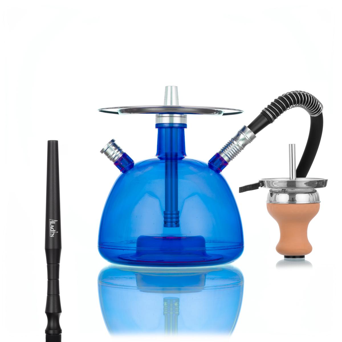 Aladin Acryl Shisha Outdoor (Blau)