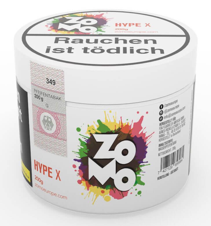 Zomo Tabak Hype X 200g