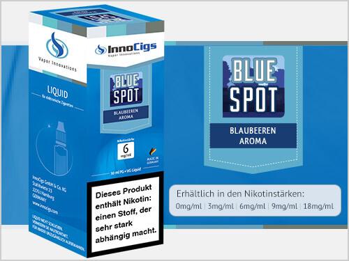 Innocigs Liquid - Blue Spot Blaubeeren Aroma - 0 mg/ml