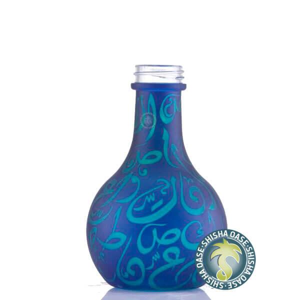 Aladin Shisha Ersatzglas Karatschi (Blau-Grün)