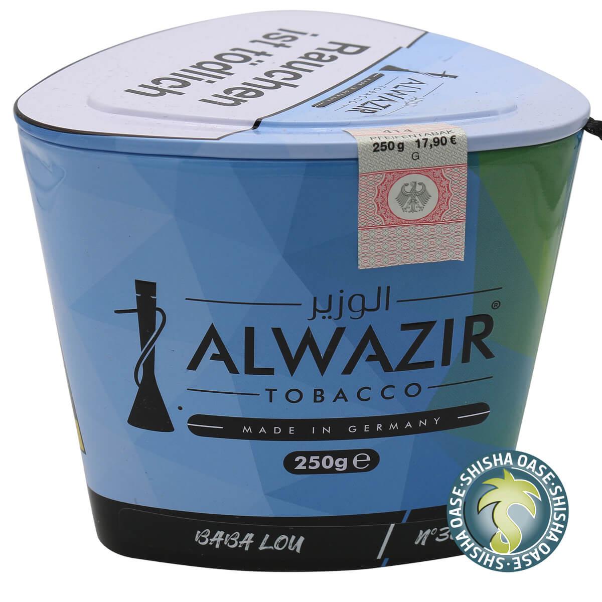 Al Wazir Tabak 250g Dose | Baba Lou No.36