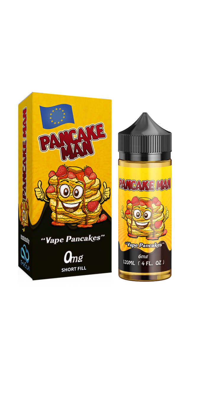 Pancake Man - Original 100ml - 0mg/ml