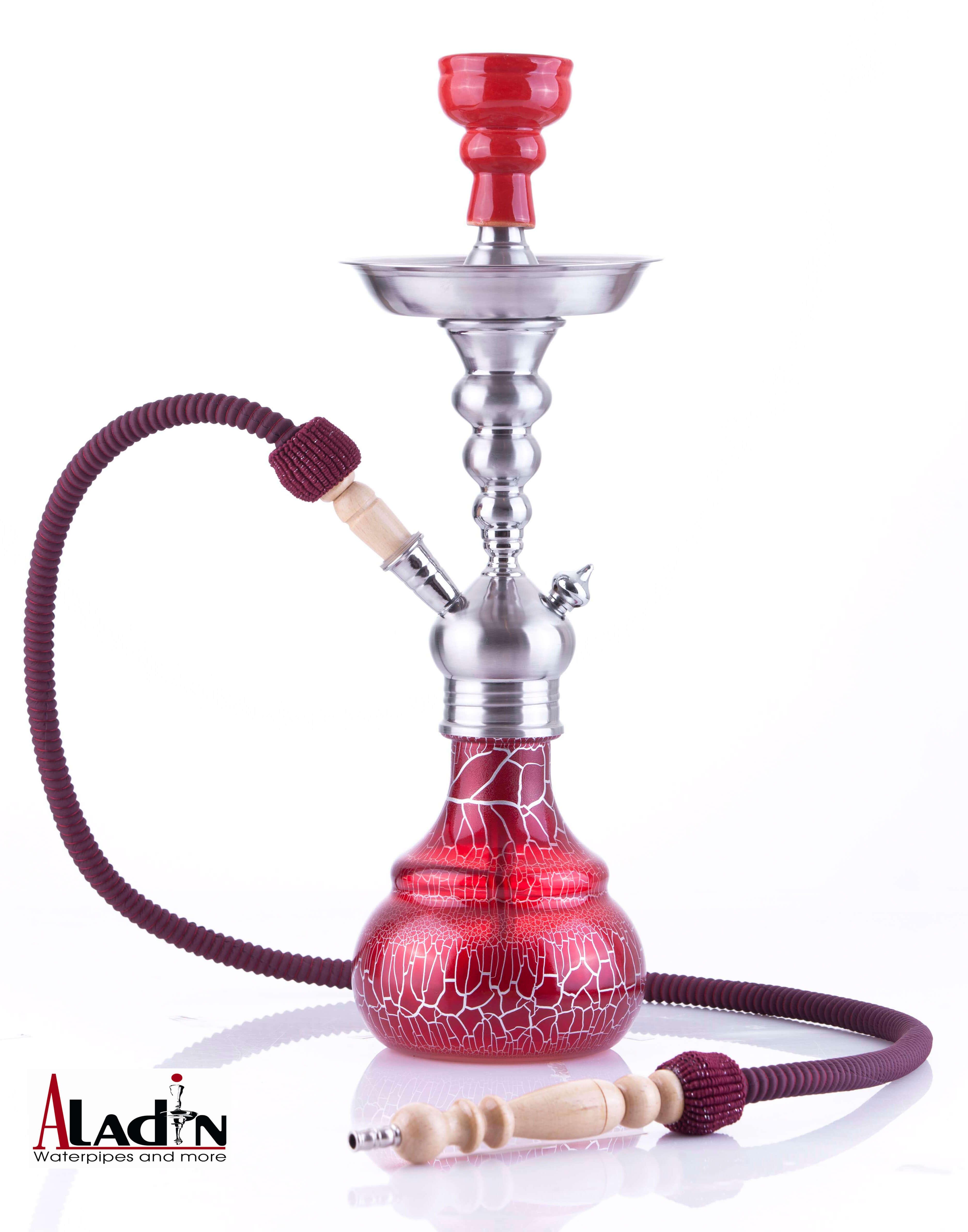 Aladin Shisha Berlin ca. 50cm (rot)