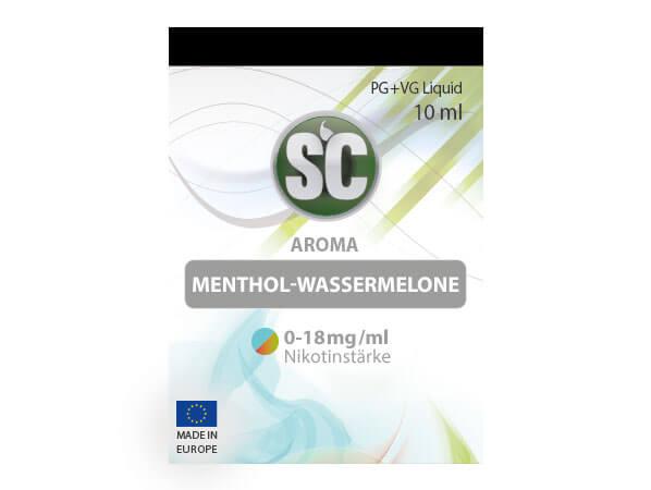 Menthol-Wassermelone Liquid (10ml) 0 mg/ml