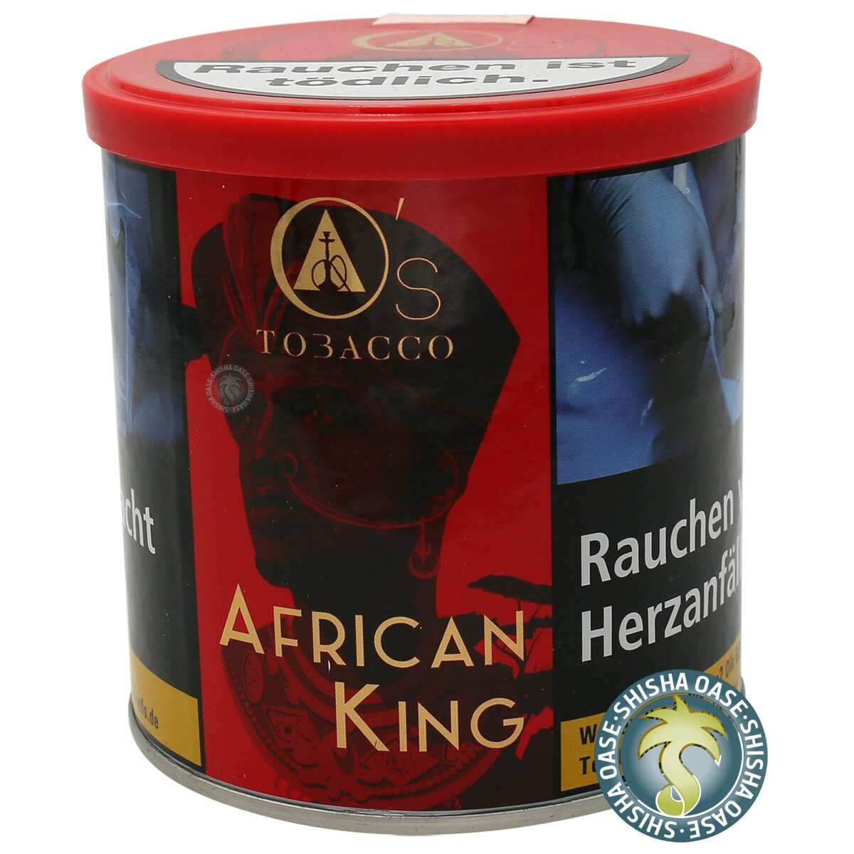 Os Tabak Red Line African King 200g