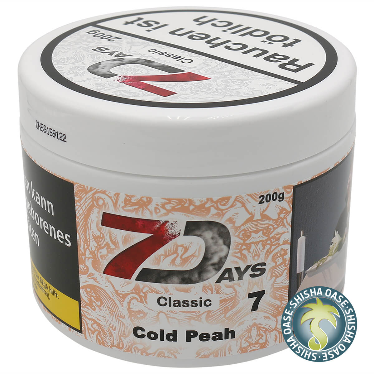 7 Days Tabak - Cold Peah Classic 200g