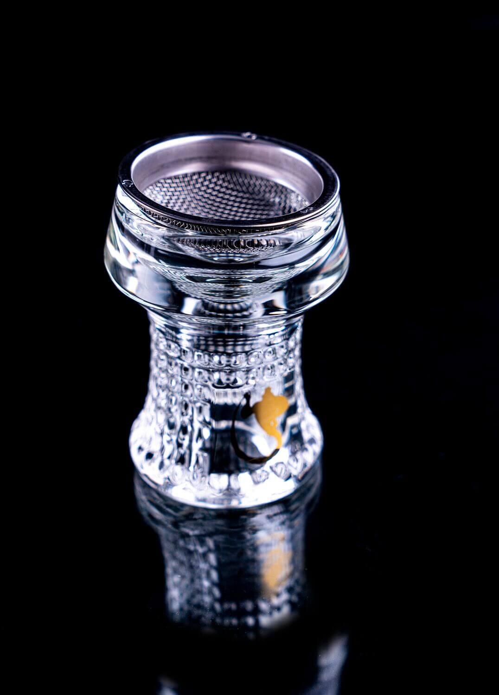Dschinni Glaskopf Nero (mit Seflex)