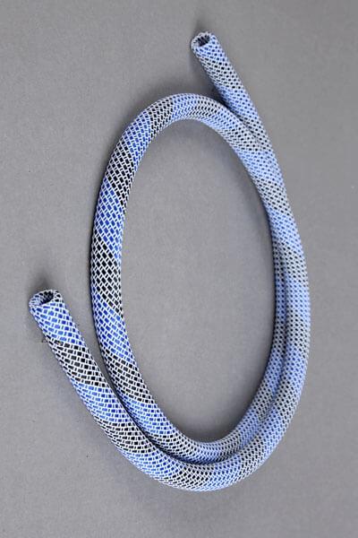 Nylon Frame Schlauch - weiß-blau-schwarz