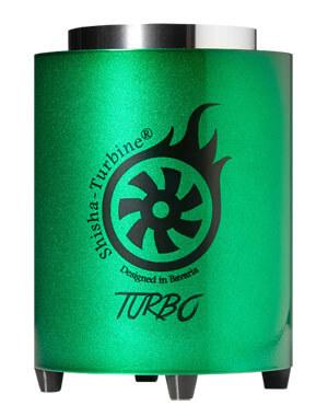 Shisha-Turbine Kohleanzünder - Grün Edition - Turbo Anzünder