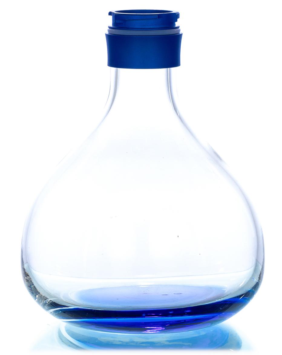 Aladin Shisha Ersatzglas Alux 1 (Blau)