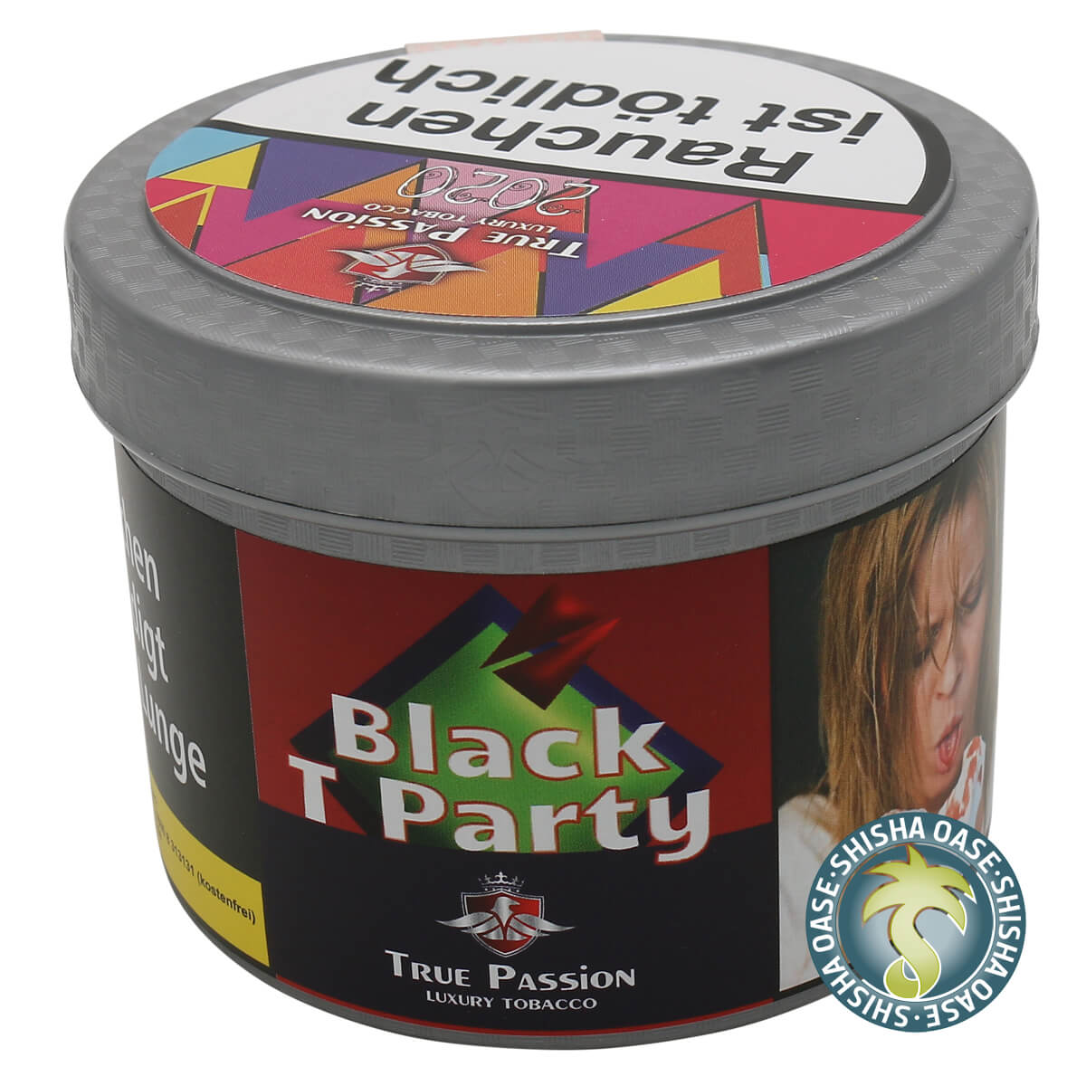 True Passion Tabak 200g Dose | Black T Party