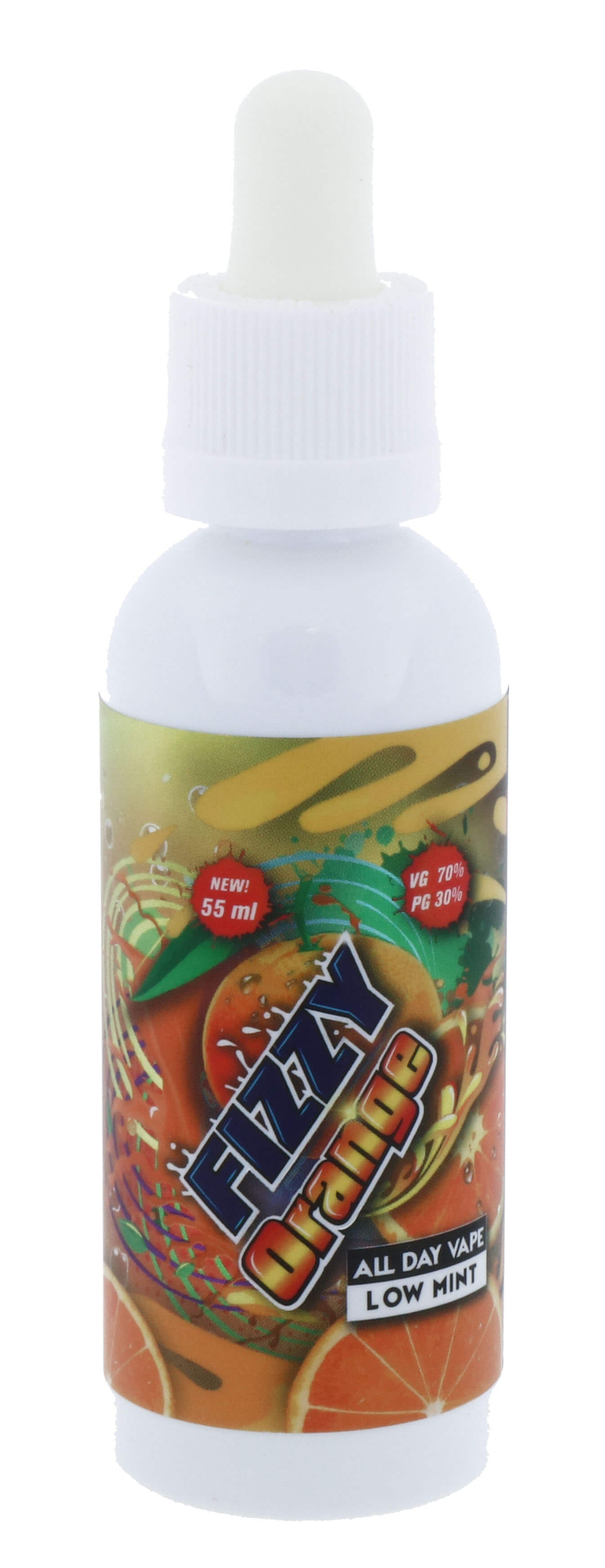Fizzy Juice - Orange 55 ml - 0 mg/ml