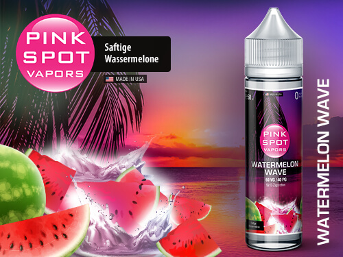 Pink Spot - Watermelon Wave 50ml - 0mg/ml