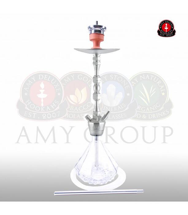 Amy Alu Diamond Klick 063 (RS Silber / Farbe Transparent)