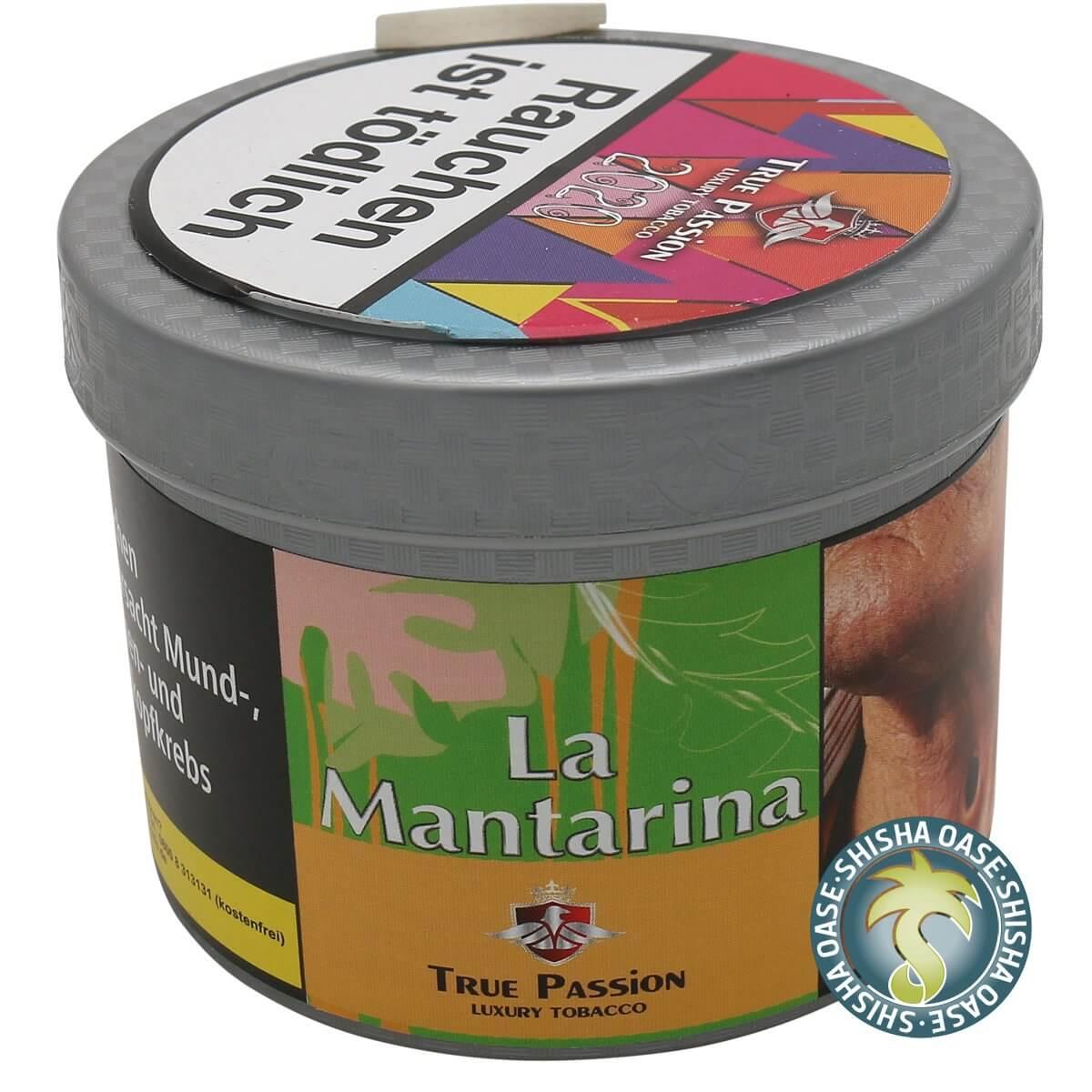 True Passion Tabak 200g Dose | Lá Mantarina
