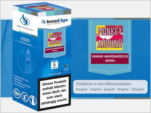 Innocigs Liquid - Monkey Around Bananen - 0mg/ml