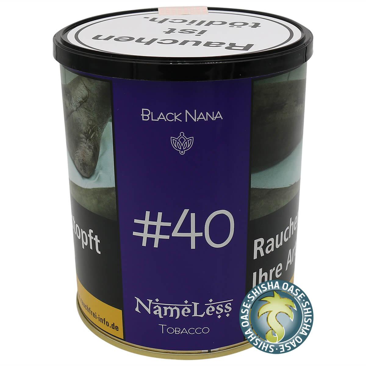 Nameless Tabak Black Nana #40 1kg