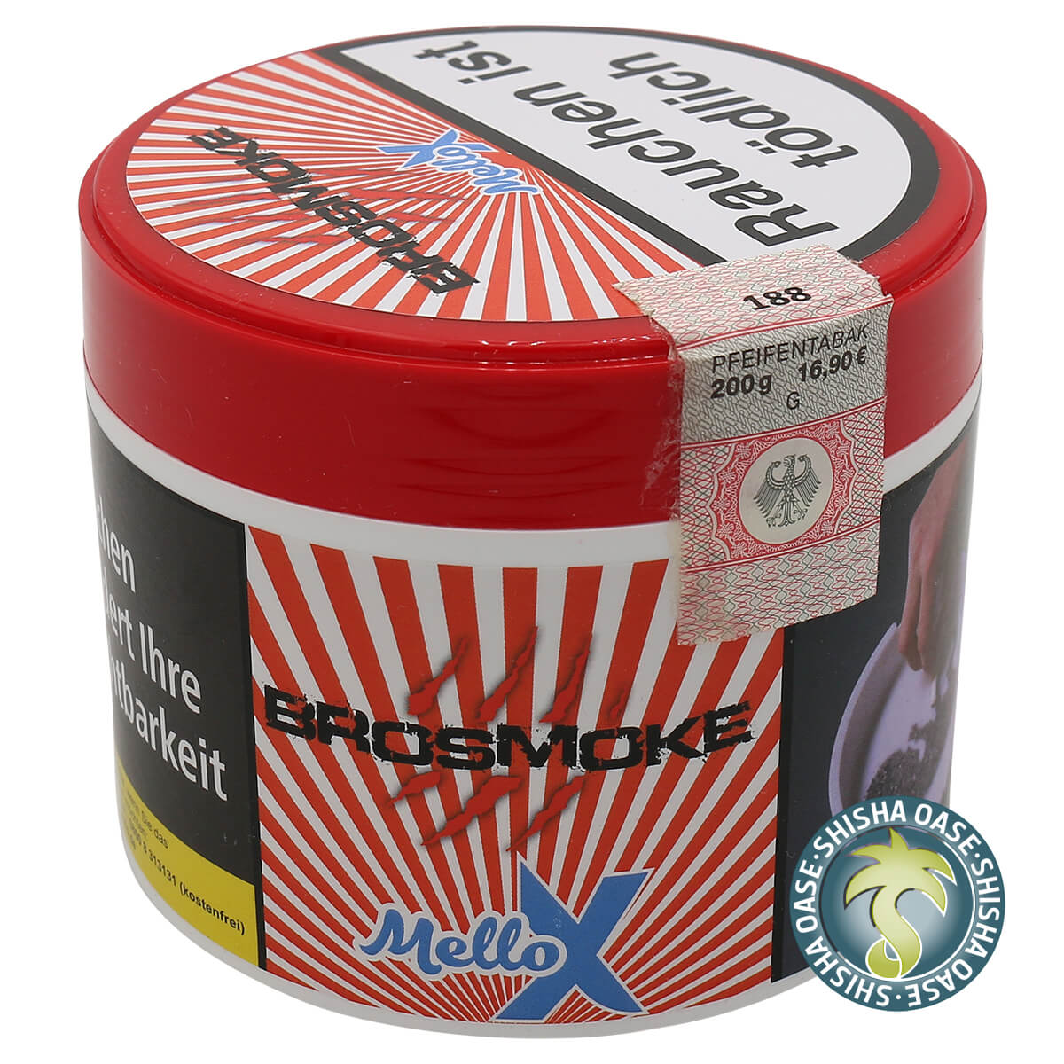 Brosmoke Tabak 200g Dose | Mello X