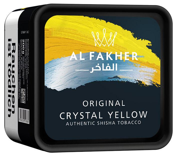 Al Fakher Tabak Crystal Yellow 1kg