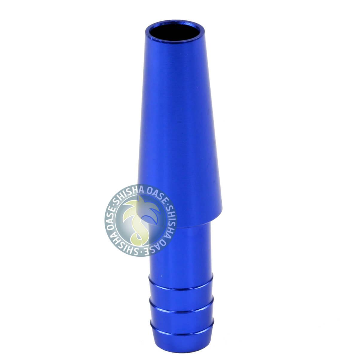 Schlauchanschluss Lang (Rillen - Blau)