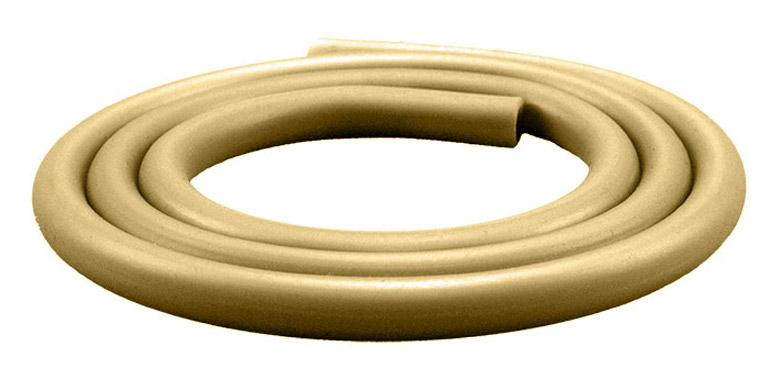 Silikonschlauch Soft Touch Matt (Gold)