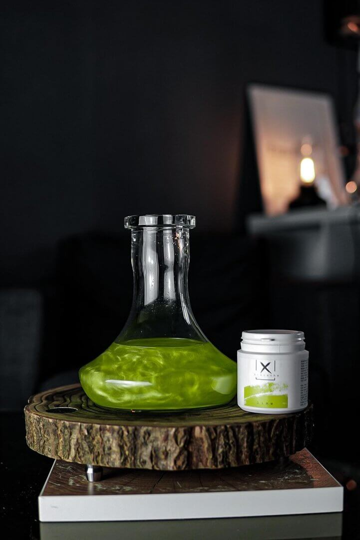 Xschischa Sparkles 50g | Lime Sparkle
