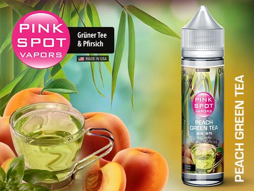 Pink Spot - Peach Green Tea 50ml - 0mg/ml