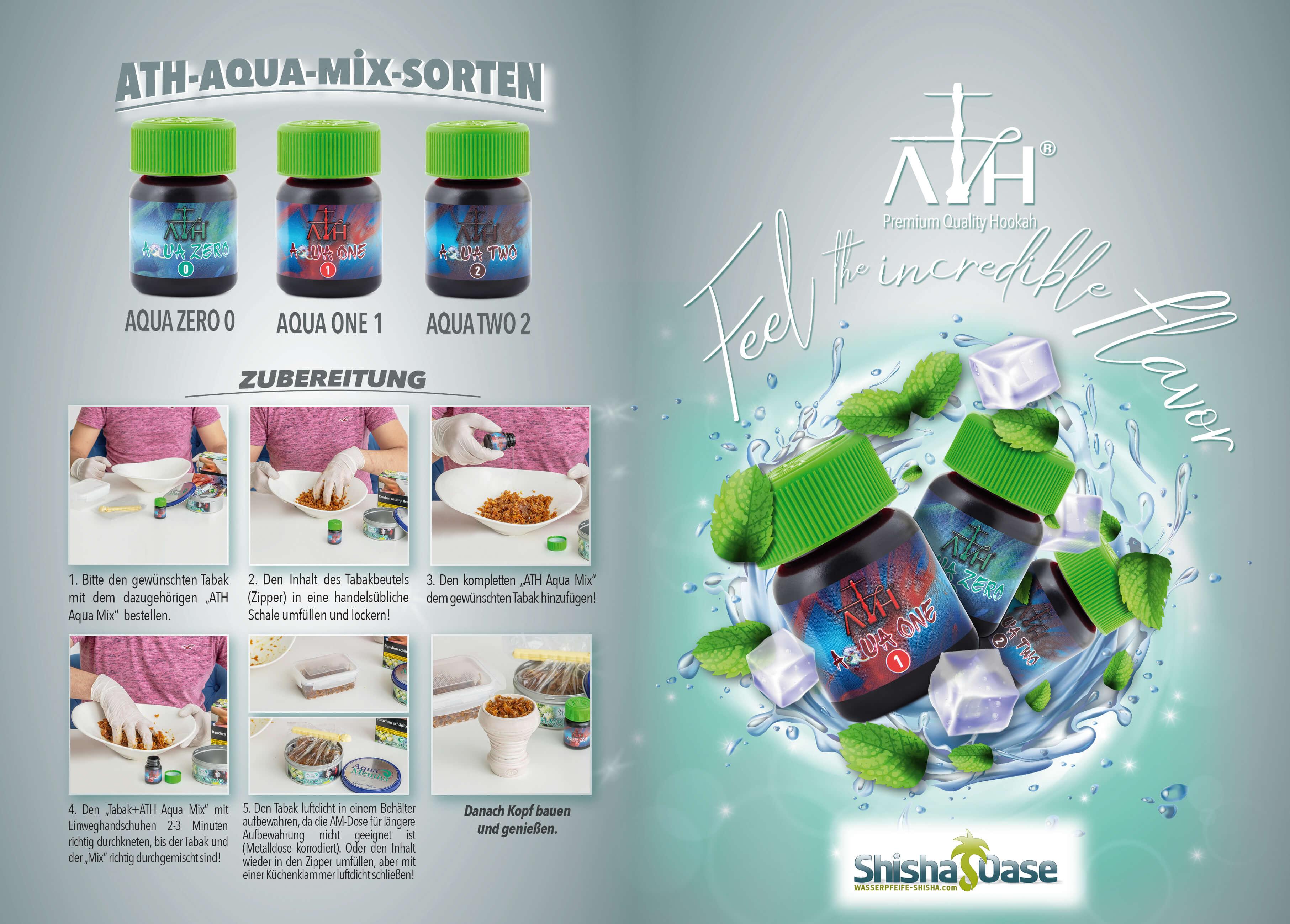 Aqua Mentha Tabak 200g | GUAM 8