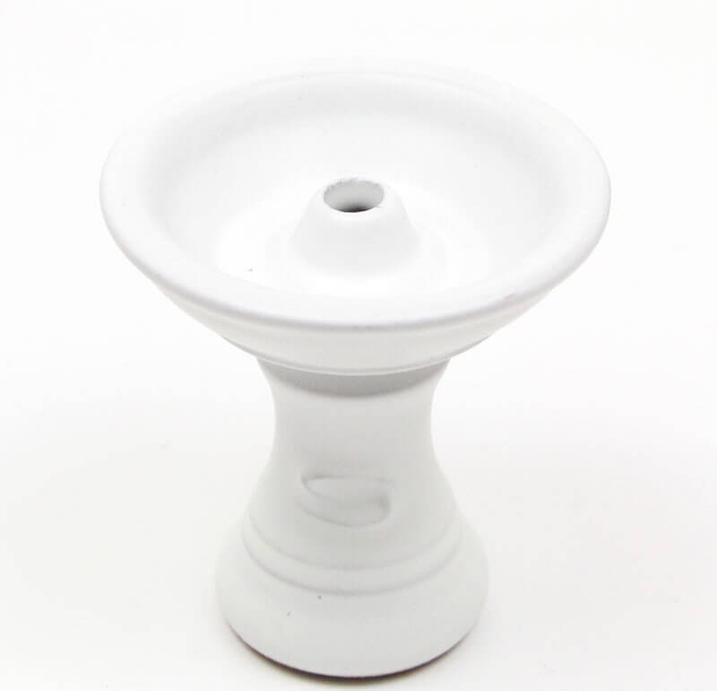 Saphire Funnel Bowl, Classic White