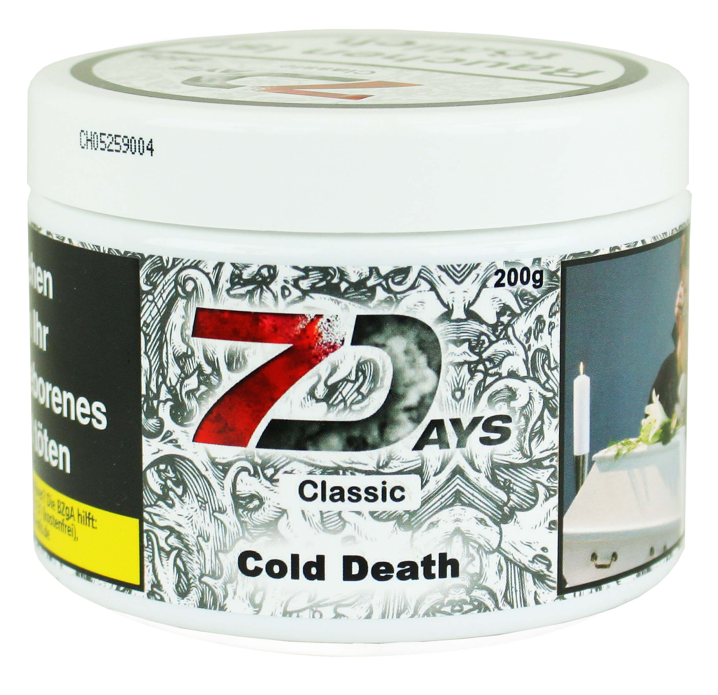 7 Days Tabak - Cold Death Classic 200g
