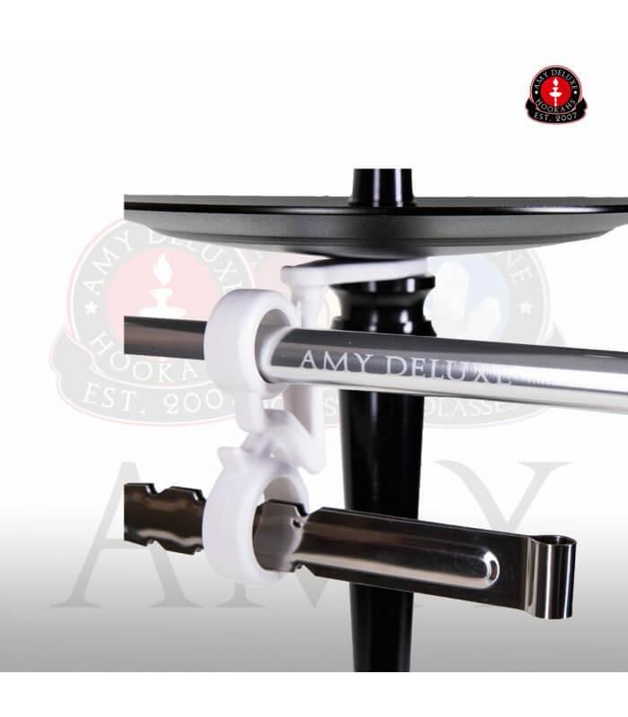 Amy Alu Deluxe Klick S 066 (RS Schwarz / Farbe Transparent) Set