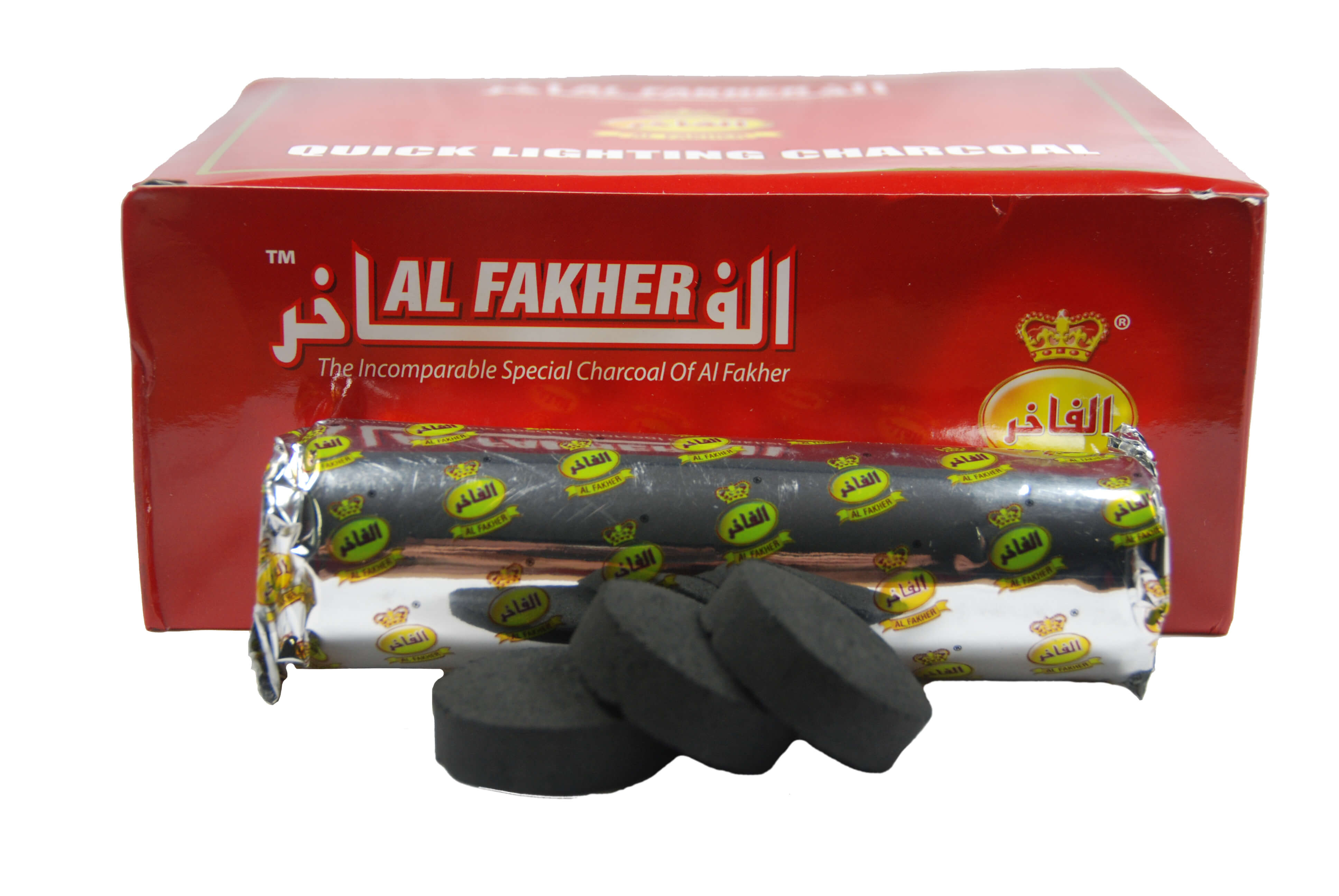 Al Fakher 33mm Selbstzünder - 10 Kohletabletten