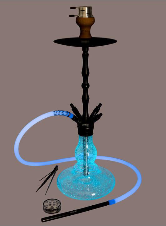 Smokah Shisha Hero Glow in the Dark | Blue