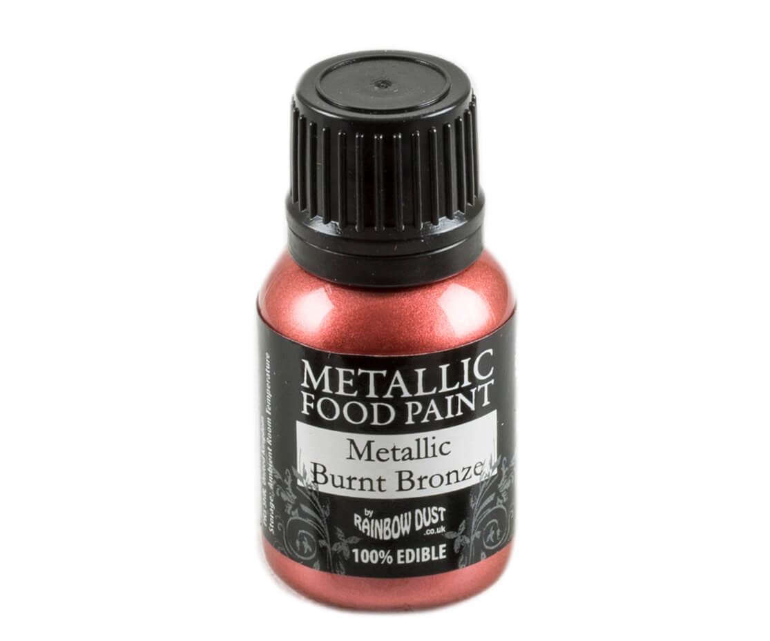 Rainbow Dust Metallic Farbe - Burnt Bronze