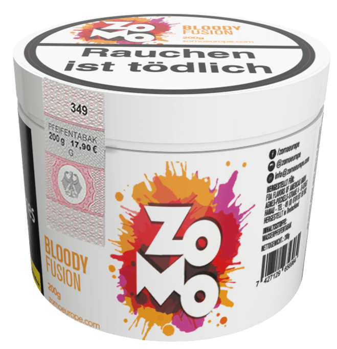 Zomo Tabak Bloody Fusion 200g