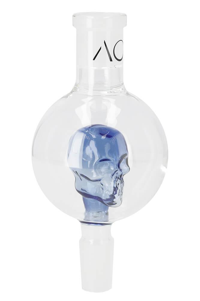 Molassefänger Skull 18/8 Blau | AO Hookah