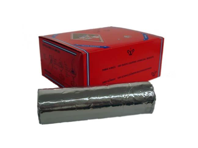 Three Kings Kohle 40mm - 100 Kohletabletten