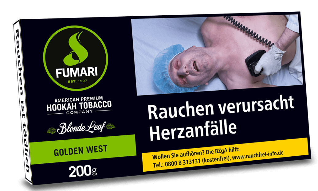 Fumari Tabak Golden West 200g