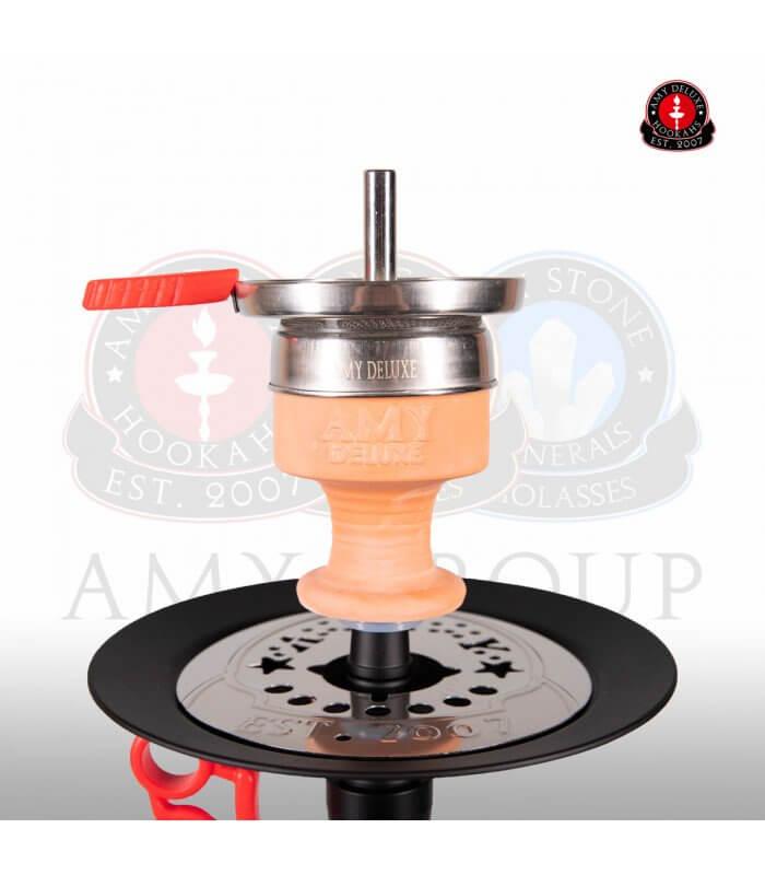 Amy Alu-X Klick S 064 (RS Schwarz / Farbe Rot) Set