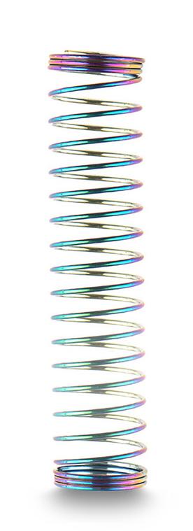 Shisha Schlauchfeder für Silikonschlauch Rainbow
