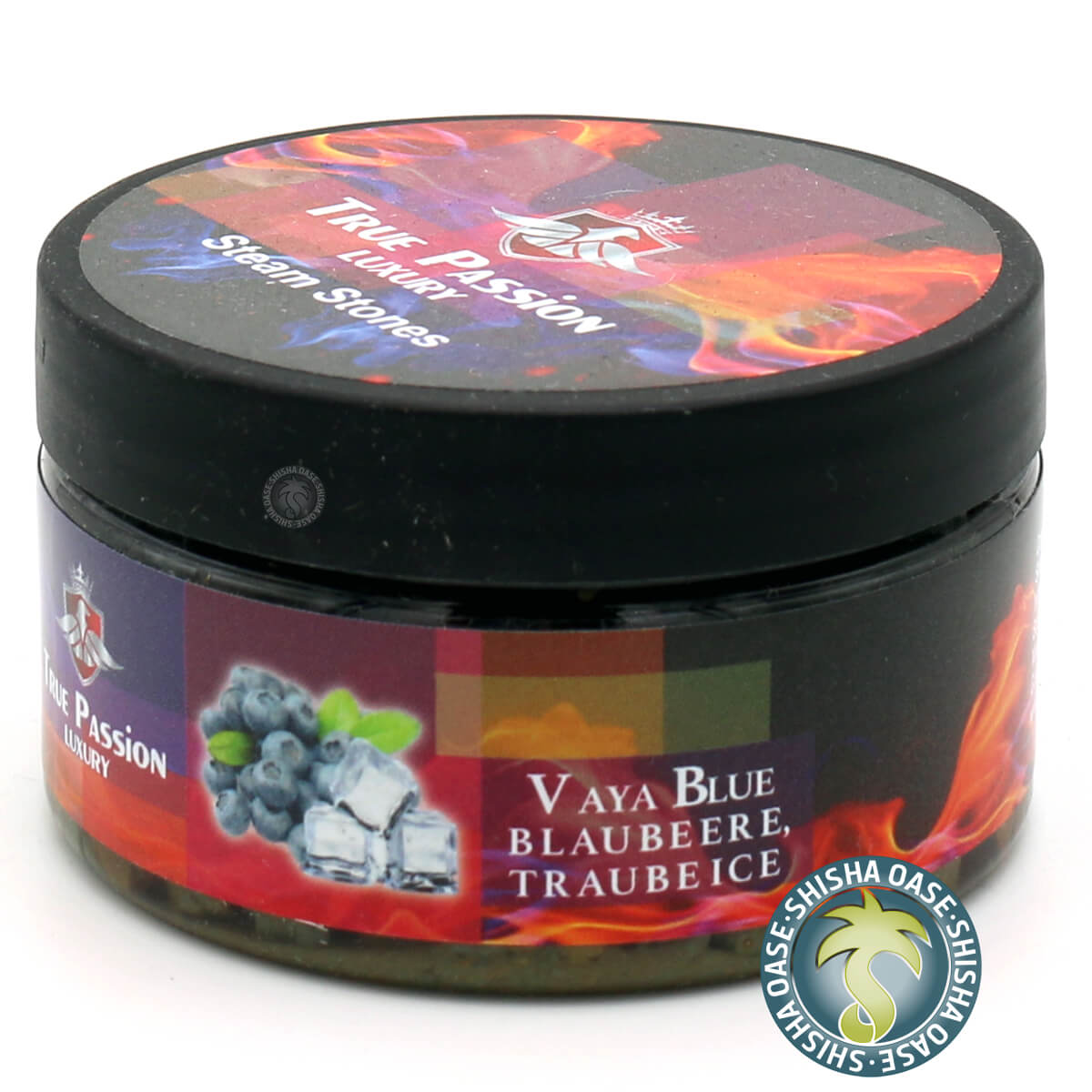 True Passion Dampfsteine 120g | Vaya Blue