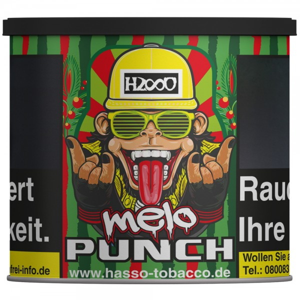 Hasso Tabak Melo Punch 200g
