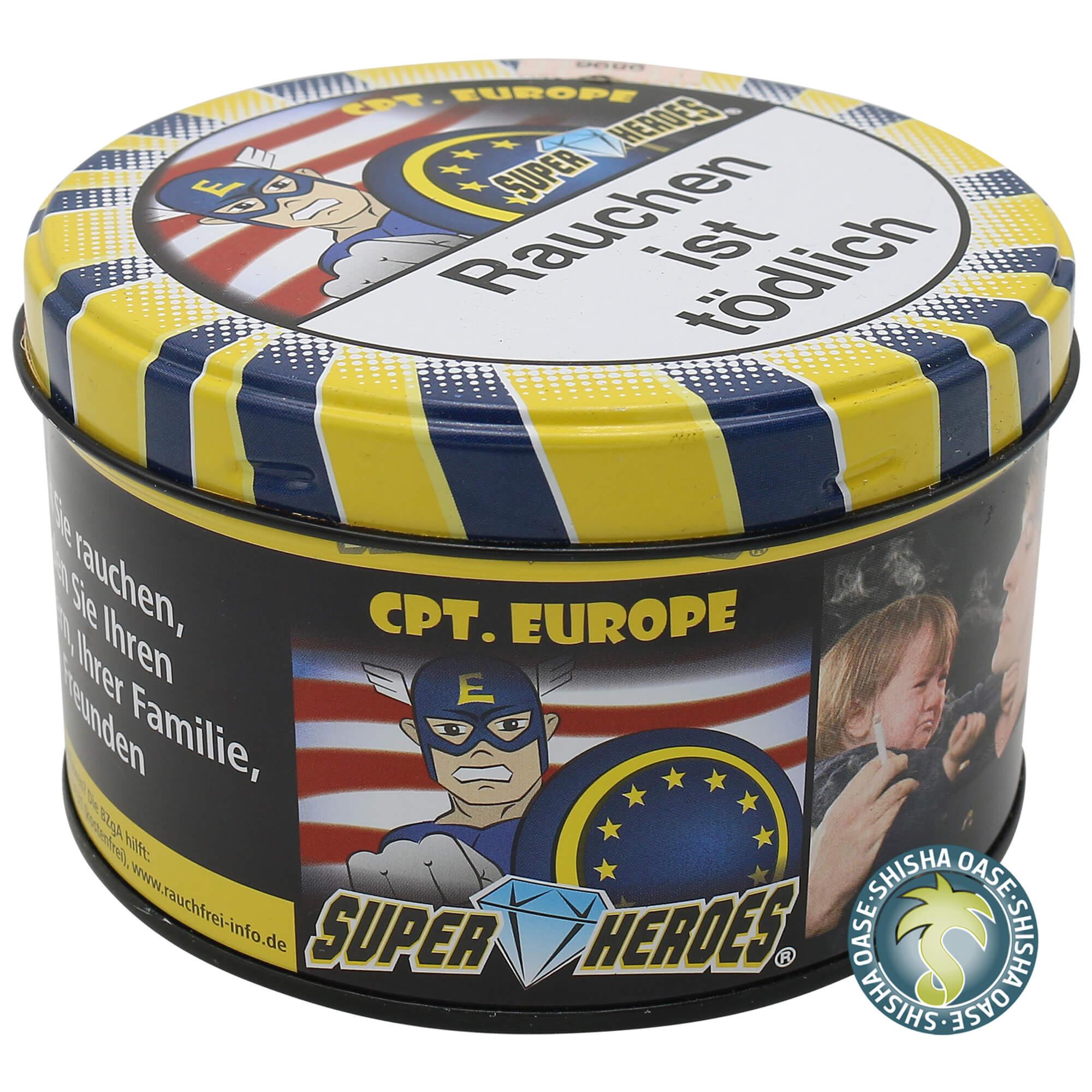 Super Heroes Tabak Cpt. Europe 200g