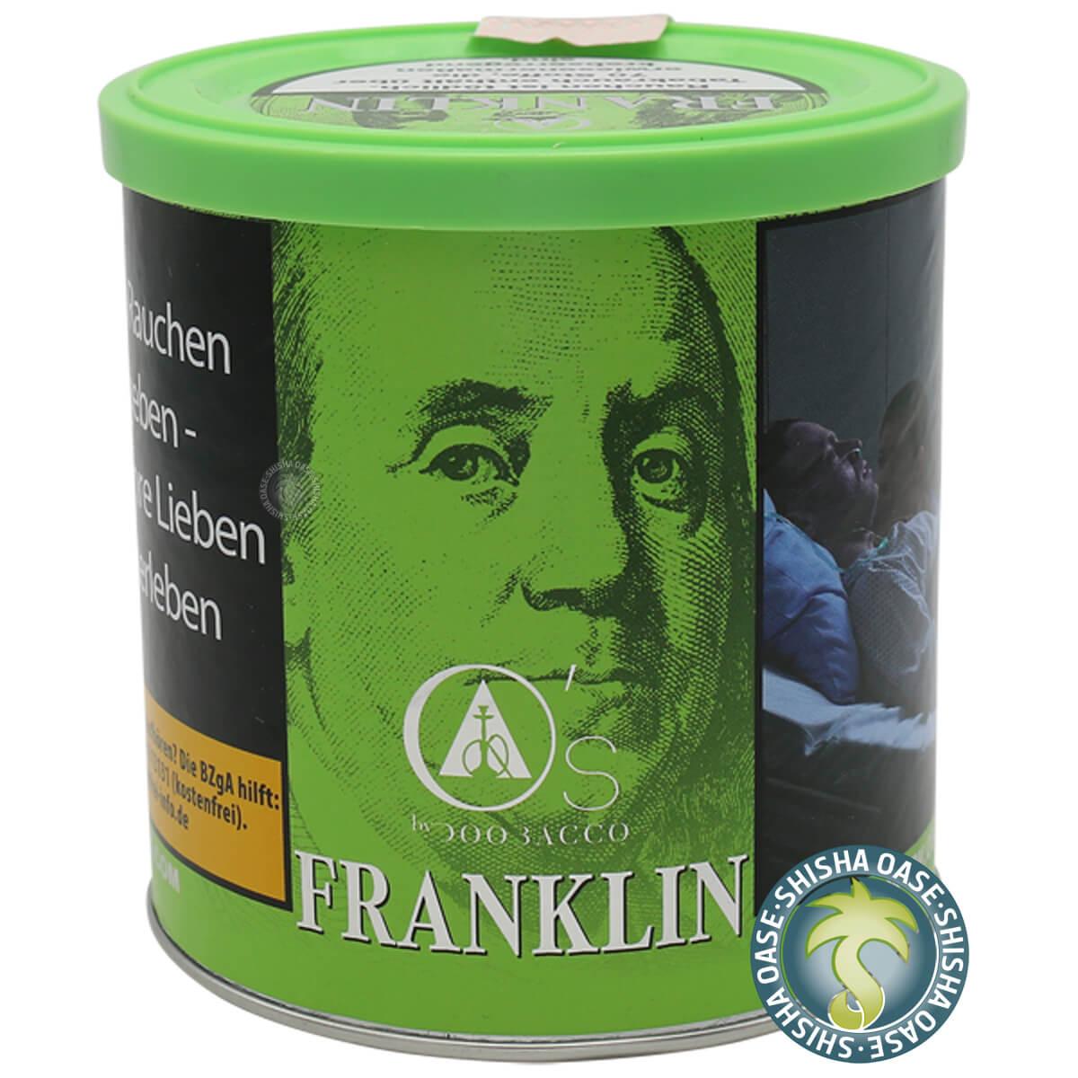 Os Tabak Green Line Franklin 200g