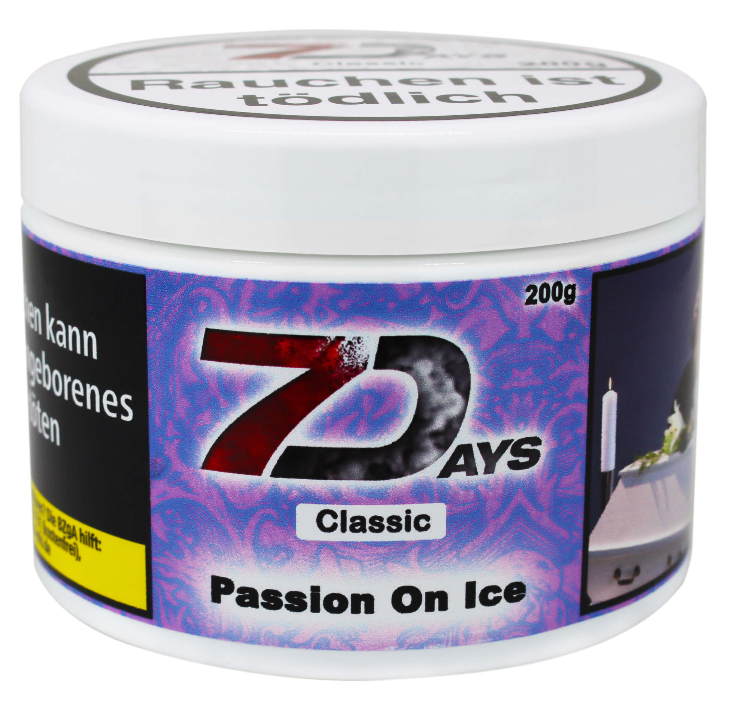 7 Days Tabak - Passion on the Ice Classic 200g