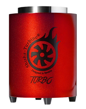 Shisha-Turbine Kohleanzünder - Red Edition - Turbo Anzünder
