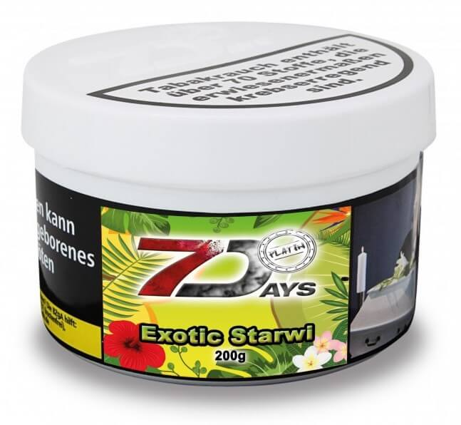 7 Days Platin Tabak - Exotic Starwi 200g