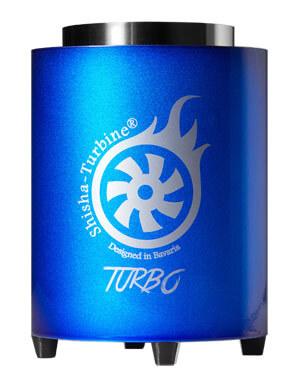 Shisha-Turbine Kohleanzünder - Blau Edition - Turbo Anzünder