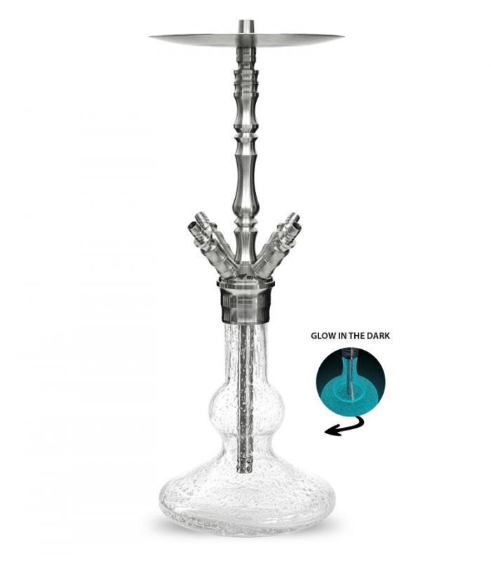 WD Hookah Edelstahlshisha | V3.0 - Z-Glow