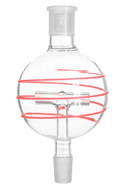 Molassefänger T-Shape Glow-in-the-Dark (Rot)